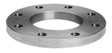 133,0 mm Stålflange plan EN1092-1 type 01 PN6