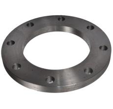 139,7 mm Stålflange plan EN1092-1 type 01 PN10-16