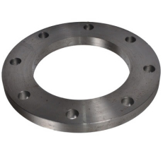 193,7 mm Stålflange plan EN1092-1 type 01 PN10-16