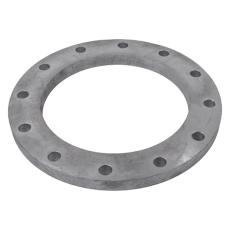 168,3 mm Galvaniseret løsflange S253JRG2 DIN 2673 PN10