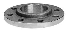 168,3 mm Stålflange med ansatz DIN 86030 PN16
