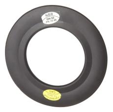 DN40 NBR-flangepakning med stålindlæg, PN10-40