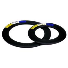 DN150 EPDM-flangepakning med stålindlæg, PN10-16