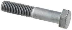 M16 x 60 mm varmgalvaniseret maskinbolt DIN 931