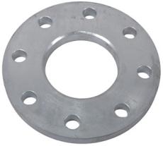 139,7 mm Løsflange galvaniseret DIN2642 PN10
