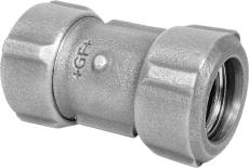 """1"""" x 32 mm Primofit ligeløbende stål/PE"""