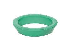 "1.1/2"" viton-pakning fpm 105gr. grøn"