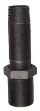 """1/2"""" x 100 mm Galvaniseret langgevind"""