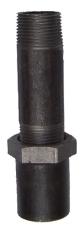 """1"""" x 140 mm Galvaniseret langgevind"""