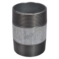 """1/4"""" x 200 mm Galvaniseret nippelrør"""
