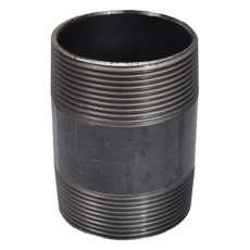"""1/2"""" x 1000 mm Sort nippelrør"""