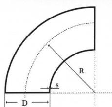 273,0 x 5,0 mm Svejsebøjning