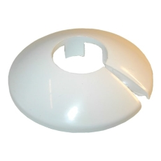 15 mm Plastroset 2-delt hvid