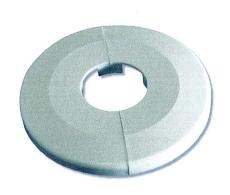 28 mm Plastroset 2-delt hvid Ø8