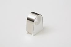 Ø22 mm 2click rustfri rørbærer - 16 mm afstand til væg