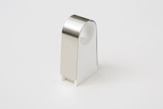 Ø15 mm 2click rustfri rørbærer - 30 mm afstand til væg