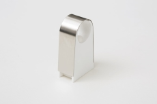 Ø22 mm 2click rustfri rørbærer - 30 mm afstand til væg