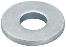 Underlagsskive U6 x 24 mm passer til ms-l skinner