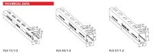 Montageskinne fls 37x21x1.2 mm - 3m