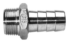 "1/4"" x 6,5 mm Slangenippel"