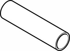 Rør FZ 22 x 1,5 mm L=6 meter Mapress