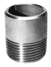 """2.1/2"""" x 60 mm Svejsenippel"""