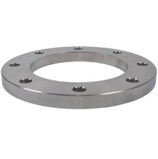 129,0 mm Planflange, AISI 316L, DIN 2676, EN1092-1, PN10