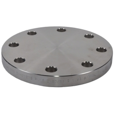60,3 mm Blindflange, AISI 316L, DIN 2527, EN1092-1, PN10-16