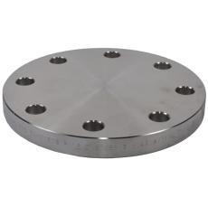 139,7 mm Blindflange, AISI 316L, DIN 2527B, EN1092-1, PN10-4