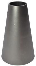 204,0 x 104,0 mm Koncentrisk reduktion AISI 316