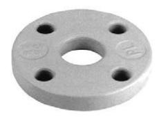 150/173 mm Alu løsflange