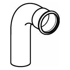 15 mm Bøjning FZ 90° muffe/nippel Mapress