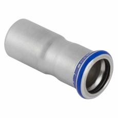 18 x 15 mm Reduktion RF nippel/muffe Mapress