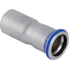 22 x 18 mm Reduktion RF nippel/muffe Mapress