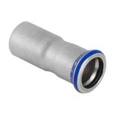 28 x 18 mm Reduktion RF nippel/muffe Mapress