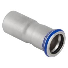 54 x 15 mm Reduktion RF nippel/muffe Mapress