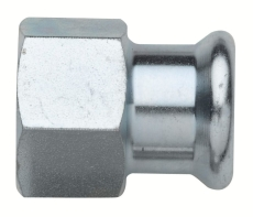 22 mm x 1/2 TURBO Steel overgangsmuffe