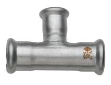 54 x 42 x 54 mm TURBO Inox tee