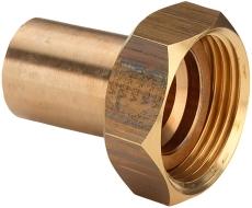 """18 mm x 3/4"""" Sanpress tilslutningsforskruning"""
