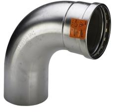 76,1 mm Sanpress Inox bøjning 90°