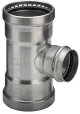 108,0 x 35 x 108,0 mm Sanpress Inox T-stykke