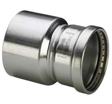88,9 x 76,1 mm Sanpress Inox reduktion