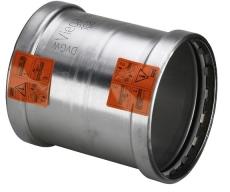 88,9 mm Sanpress Inox skydemuffe