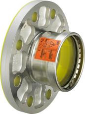 76,1 mm (DN65) Sanpress Inox flangeovergang