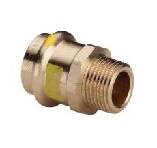 "15 mm x 1/2"" Overgang muffe/nippel Profipress Gas"