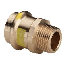 "18 mm x 3/4"" Overgang muffe/nippel Profipress Gas"