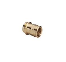 """18 mm x 3/4"""" Overgang muffe/muffe Profipress Gas"""