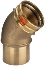 88,9 mm Sanpress bøjning 45° Siliconefri pakning
