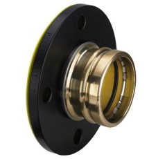 54 mm Sanpress flangeovergang DN50 Siliconefri pakning