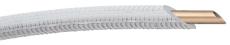 Wicu flex 12x1 mm blød cw024a 25 mtr EN1057 6 mm pe isolerin